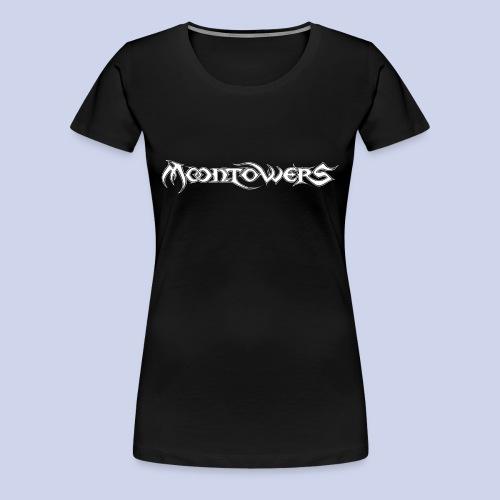 Moontowers-Logo-weiß - Frauen Premium T-Shirt