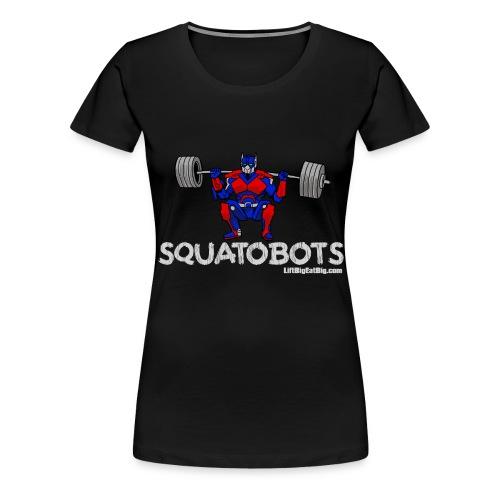 squatobots2url - Women's Premium T-Shirt