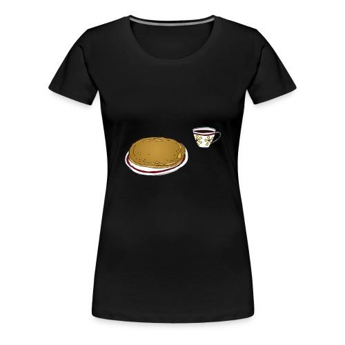 11 kaffiogsvele - Premium T-skjorte for kvinner