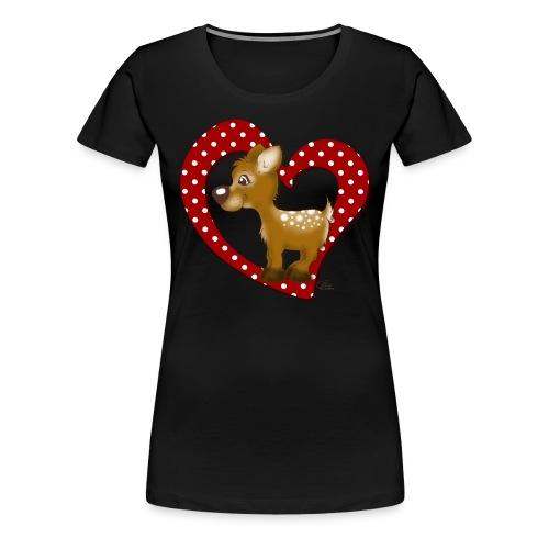 Kira Kitzi Fliepi - Frauen Premium T-Shirt