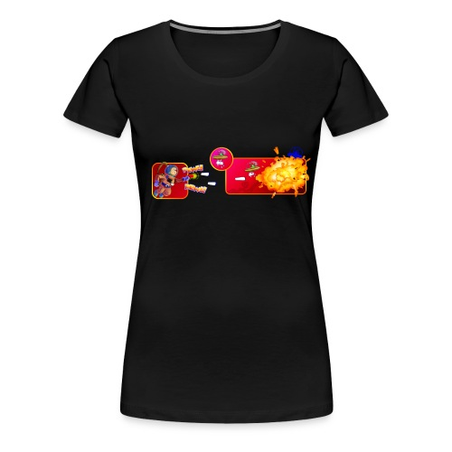 pew pew ladies royal blue - Women's Premium T-Shirt