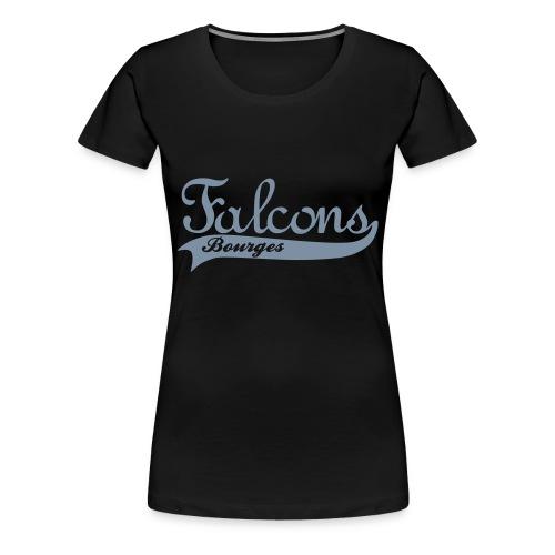 Falcons Bourges - T-shirt Premium Femme