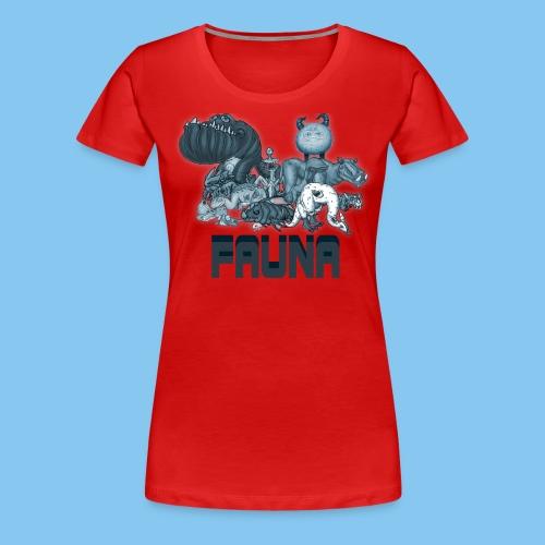 FAUNA shirt png - Women's Premium T-Shirt