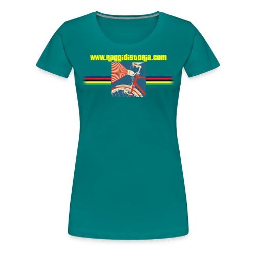 Raggi Di Storia Com - Maglietta Premium da donna