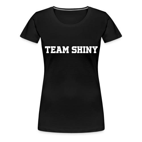 Team Shiny - T-shirt Premium Femme