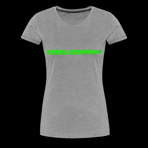 Voxel Records Banner Large - Women's Premium T-Shirt