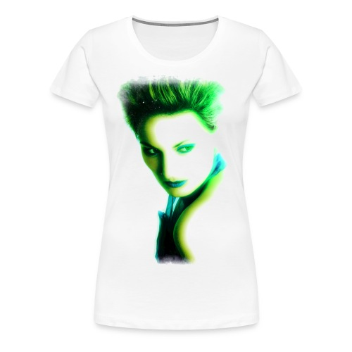 girl_grün.png - Frauen Premium T-Shirt
