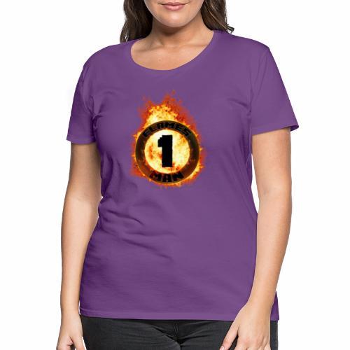 Flame-Ring - Dame premium T-shirt