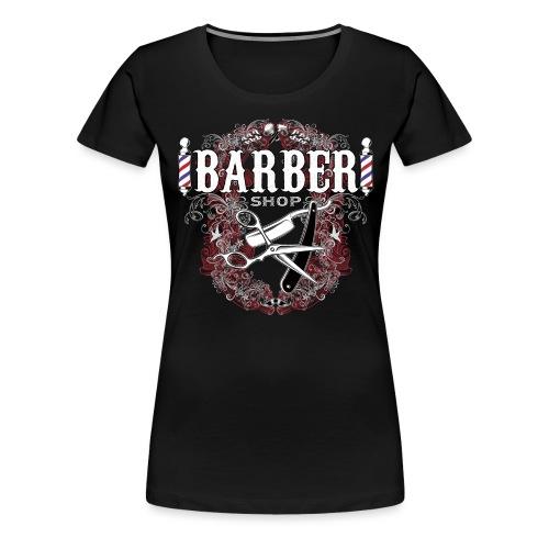 Barber Shop_03 - Maglietta Premium da donna
