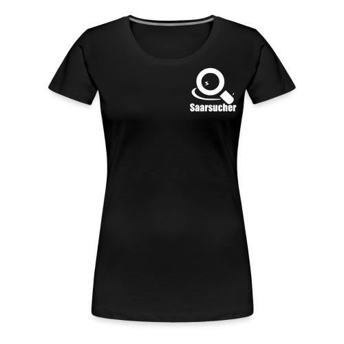 saarsucher logo - Frauen Premium T-Shirt