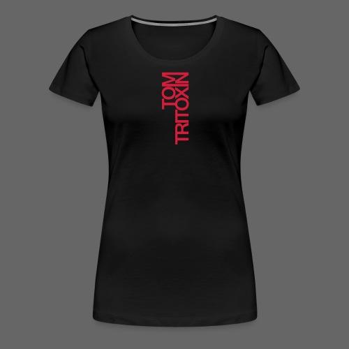 TOM TRITOXIN LONGSHIRT Black - Frauen Premium T-Shirt
