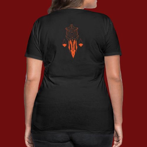 Praetorate - Large Back - Women's Premium T-Shirt
