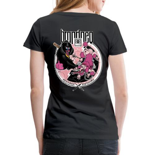 AVERAGE AWESOME - Frauen Premium T-Shirt
