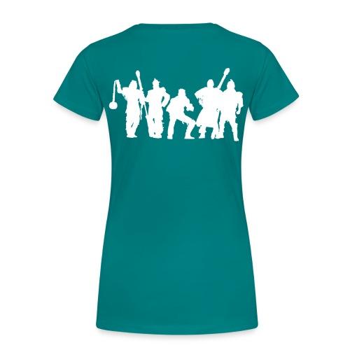 Jugger Schattenspieler weiss - Frauen Premium T-Shirt