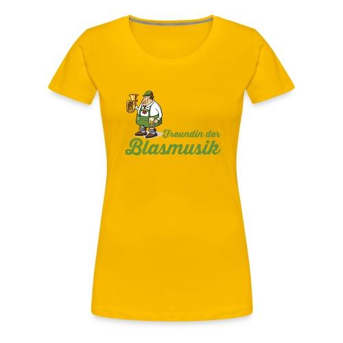 freundin der blasmusik png - Frauen Premium T-Shirt