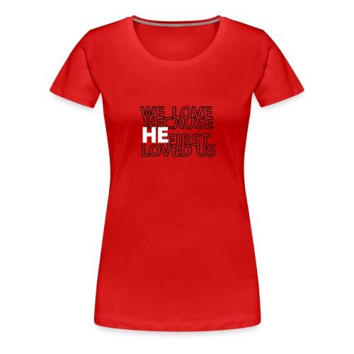 1John4 - Women's Premium T-Shirt