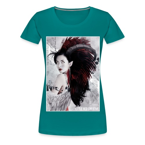 feathers - Women's Premium T-Shirt