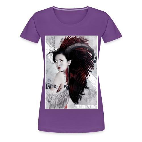 feathers - Women's Premium T-Shirt