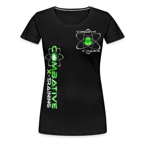 LOGO2016 green2 png - Frauen Premium T-Shirt