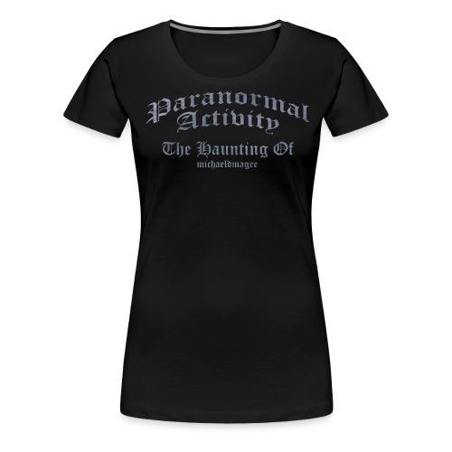 haunting of michaeldmagee png - Women's Premium T-Shirt