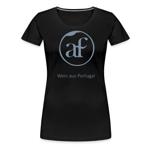 Logo_AF_T-shirt-02 - Frauen Premium T-Shirt