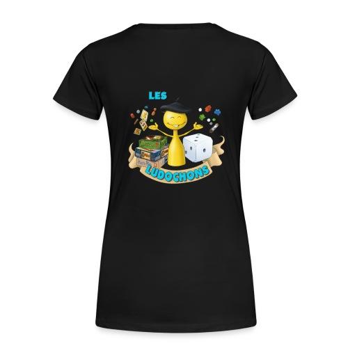 logo1bis gif - T-shirt Premium Femme