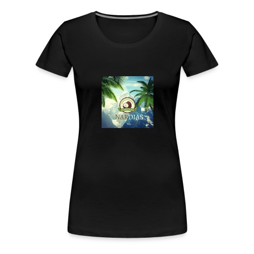 Nardias Mountpalm - Frauen Premium T-Shirt
