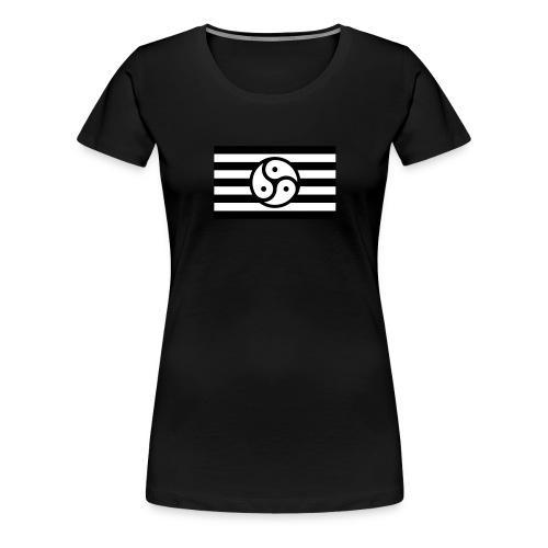 Frauen/Herrinnen T-Shirt BDSM Flagge SW - Frauen Premium T-Shirt