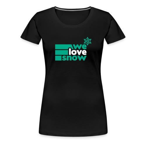 wls stern white - Frauen Premium T-Shirt