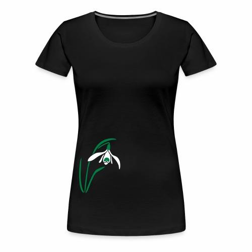 schneegloeckchen - Frauen Premium T-Shirt