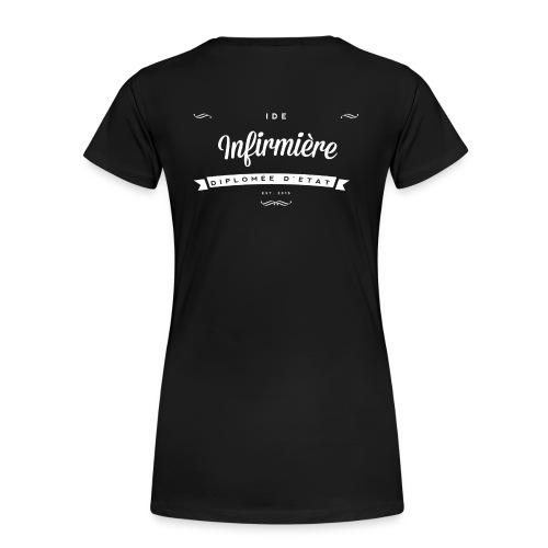 LogoIDEFemme blanc png - T-shirt Premium Femme