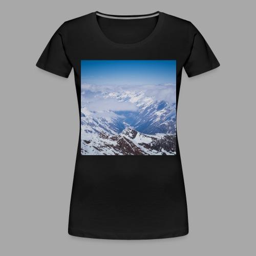 glacier all over min jpg - Frauen Premium T-Shirt