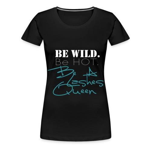 Shirt Motiv4 weiss png - Frauen Premium T-Shirt