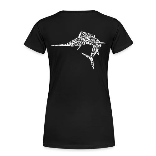 The White Marlin - Women's Premium T-Shirt