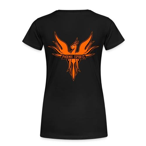 Phoenix Mascot 3Farben - Frauen Premium T-Shirt