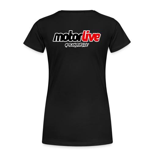 motorlive - T-shirt Premium Femme