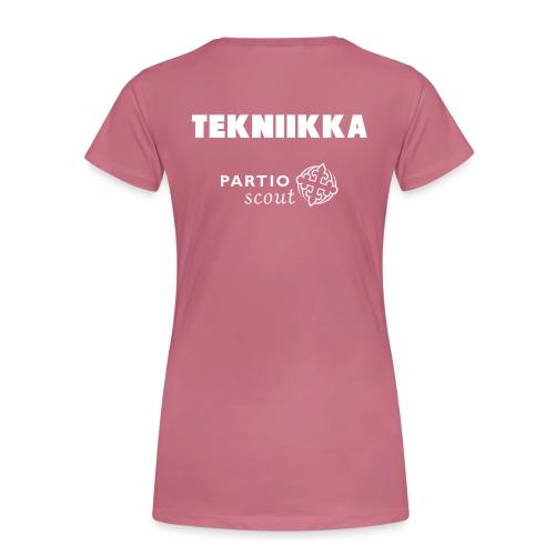 Partiotekniikka - Naisten premium t-paita