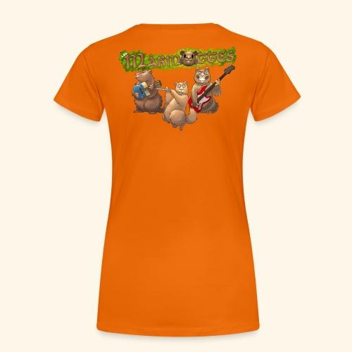 Tshirt groupe dos - T-shirt Premium Femme