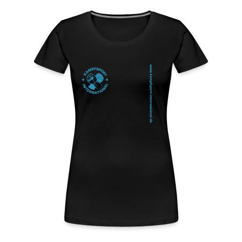 kiwebsite - Frauen Premium T-Shirt