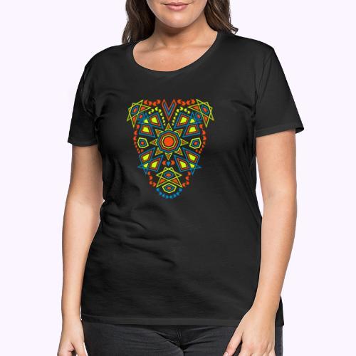 Tribal Sun Front - Camiseta premium mujer