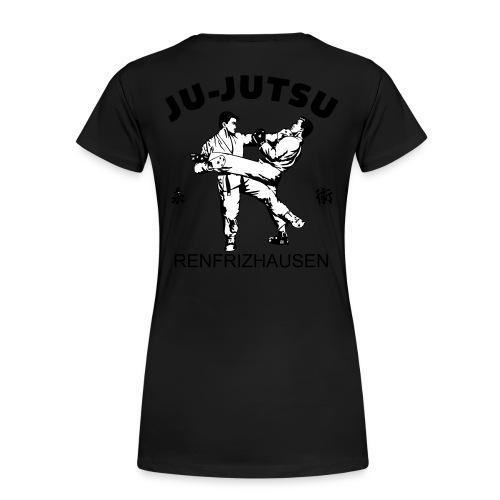 logo sw 3farb - Frauen Premium T-Shirt