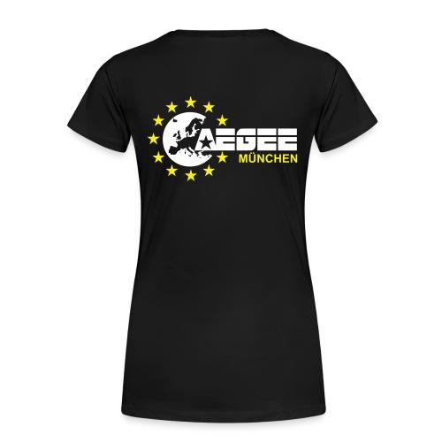 aegeemuenchenvector - Frauen Premium T-Shirt