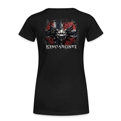 Et lite stykke norge! - Premium T-skjorte for kvinner