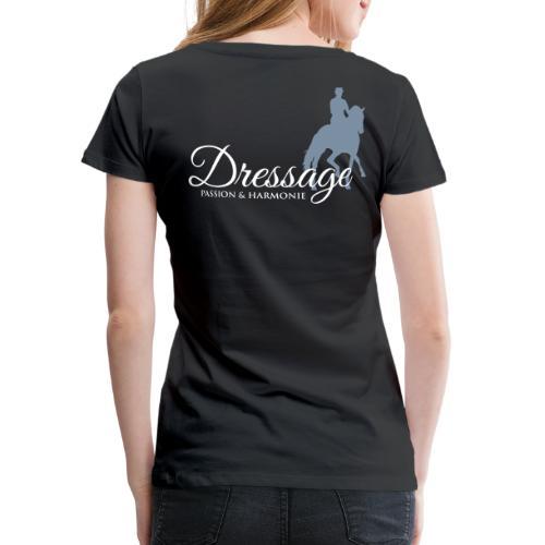 Dressage - Frauen Premium T-Shirt