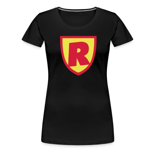 Superhjälte från RoJteatern - Premium-T-shirt dam