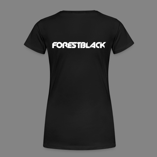 ForestBlack Regular Snap black/grey - Frauen Premium T-Shirt