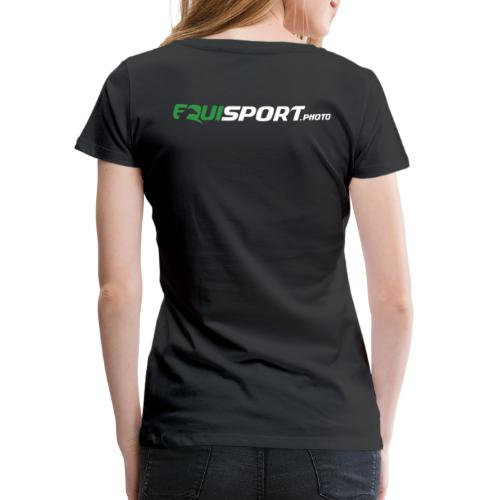 Equisport Photo Logo - Premium-T-shirt dam