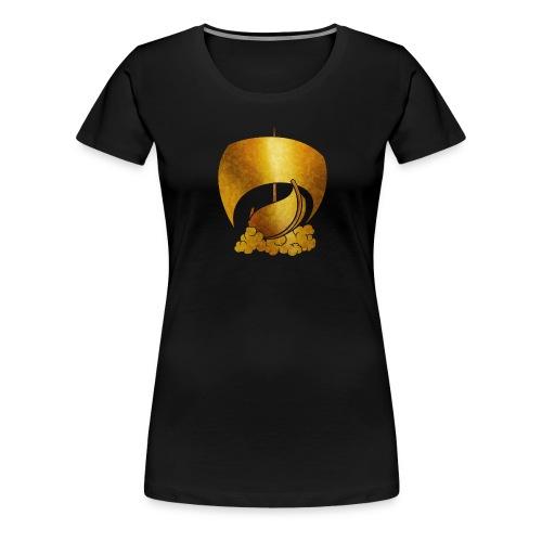 schiff png - Frauen Premium T-Shirt