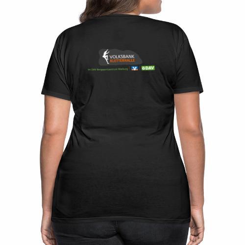 Volksbank Kletterhalle Logo Big - Frauen Premium T-Shirt