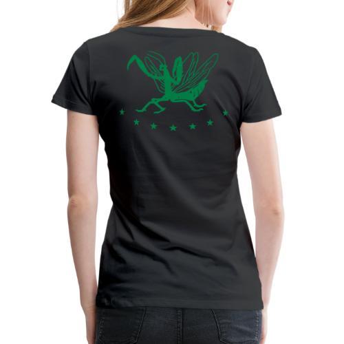 Seven Star Mantis - Frauen Premium T-Shirt